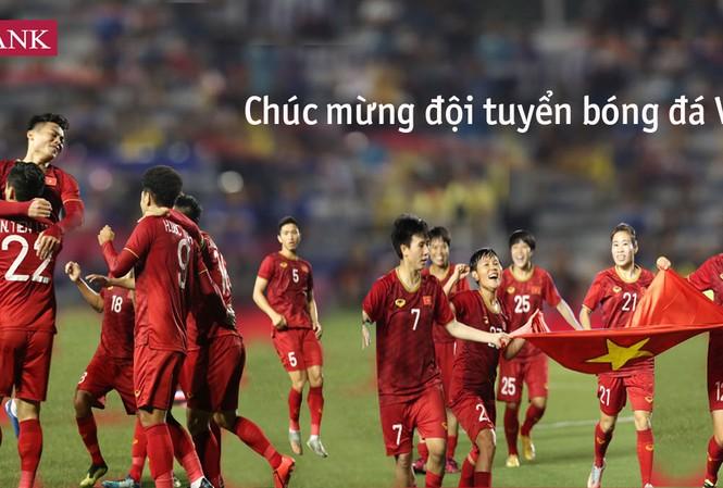 Agribank tặng 2 tỷ đồng cho 2 đội tuyển bóng đá nam và nữ Việt Nam