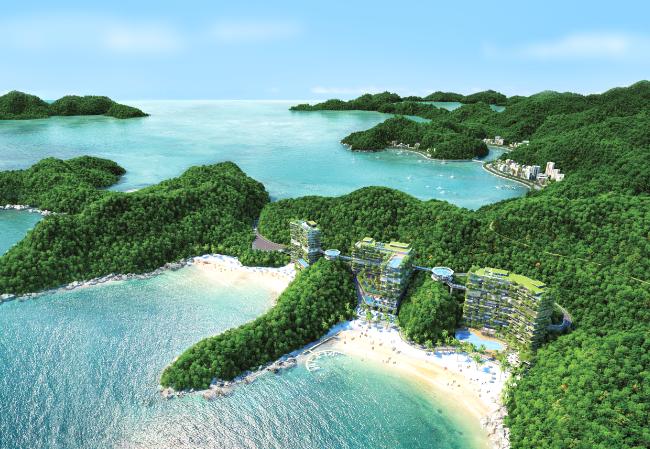 Với tổng diện tích 345km2 gồm 388 hòn đảo lớn nhỏ, thiên nhiên ưu ái dành tặng Cát Bà những lợi thế khó nơi nào sánh được.