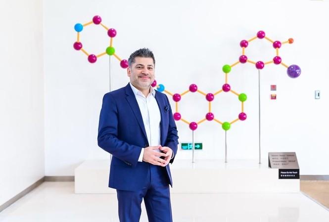 Ông Nitin Kapoor, Chủ tịch Công ty TNHH AstraZeneca Việt Nam