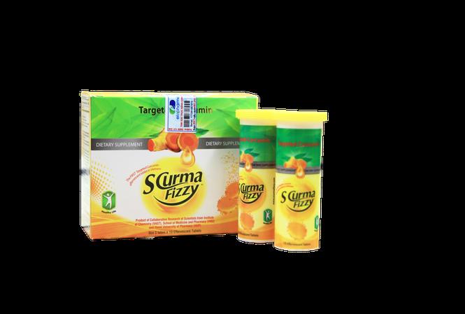 SCurma Fizzy – Tập trung viêm loét  hỗ trợ khỏe nhanh dạ dày