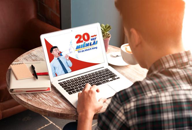VietCredit tri ân khách hàng với chương trình 20 ngày vay miễn lãi suất