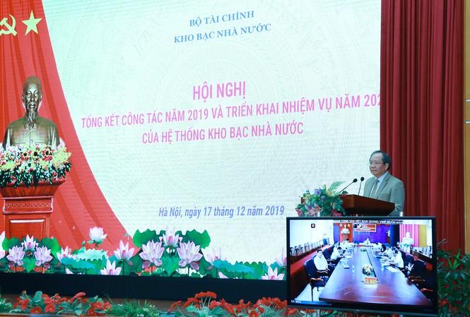 Thứ trưởng Bộ Tài chính Đỗ Hoàng Anh Tuấn phát biểu chỉ đạo Hội nghị