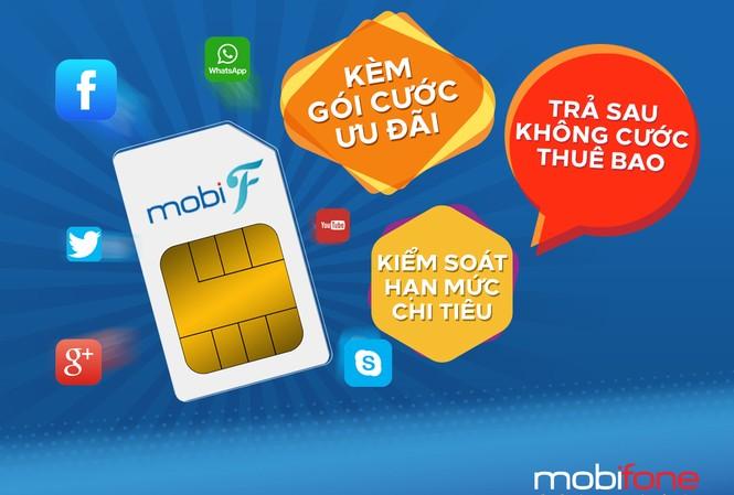 Vô tư thoại, data thả ga với gói cước trả sau ưu đãi của MobiFone