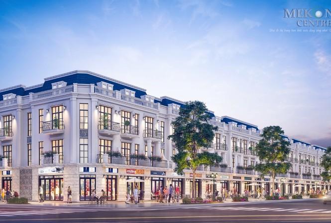 Khu phố thương mại Kim Ngân Gia đang trở thành tâm điểm thu hút các thương nhân tại Sóc Trăng và các nhà đầu tư cho thuê khắp cả nước
