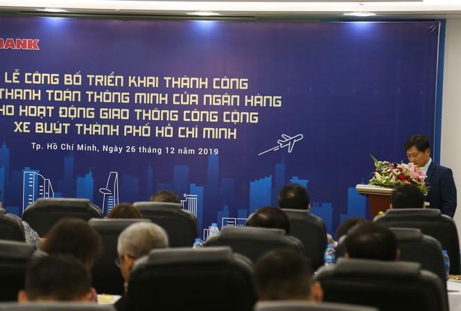 Ông Dương Nhất Nguyên - Phó Chủ tịch HĐQT Vietbank phát biểu tại buổi lễ