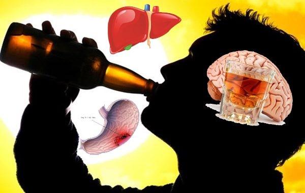 Tác hại của rượu bia và những con số đáng báo động