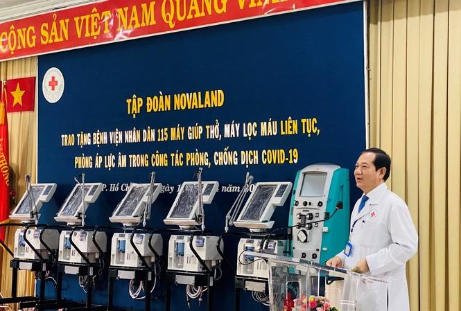 Ts.Bs. Phan Văn Báu - Giám đốc Bệnh viện Nhân dân 115 chia sẻ về tầm quan trọng của các trang thiết bị Y tế hiện đại trong công tác điều trị dịch bệnh