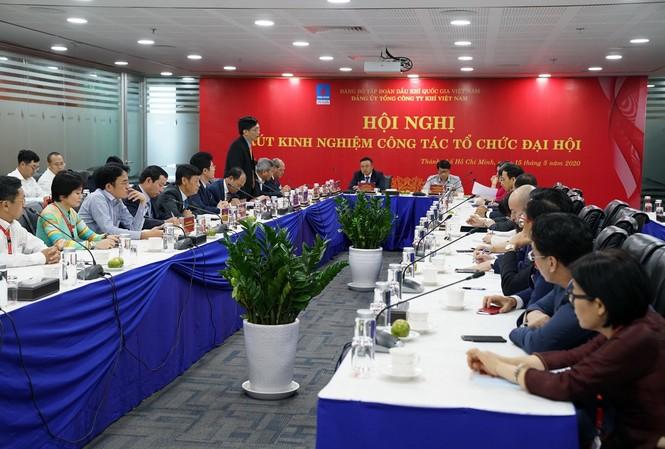 Hội nghị rút kinh nghiệm tổ chức đại hội Đảng
