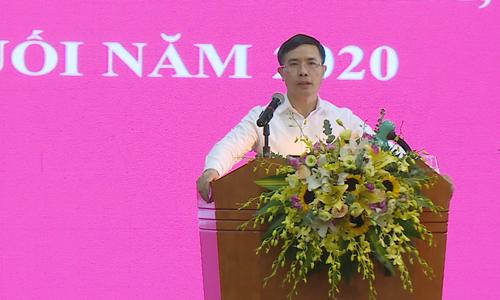 Đồng chí Phạm Đức Ấn - Chủ tịch Hội đồng Thành viên phát biểu chỉ đạo Hội nghị