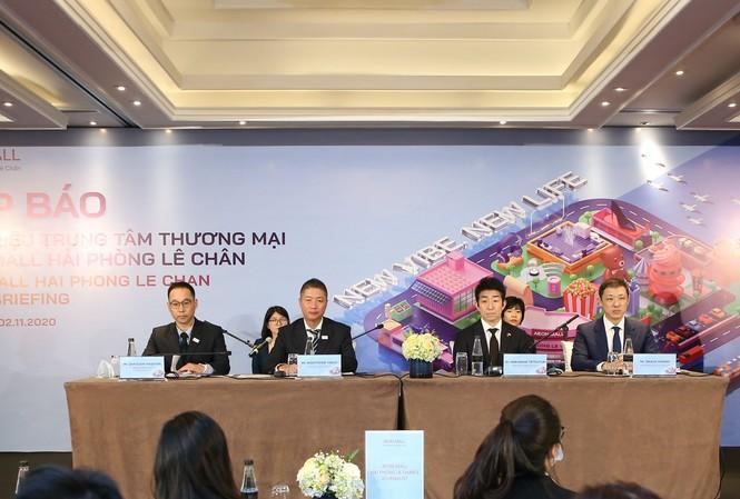 Đại diện AEON Việt Nam tại Họp báo Khai trương TT BHTH & Siêu thị AEON - Hải Phòng Lê Chân