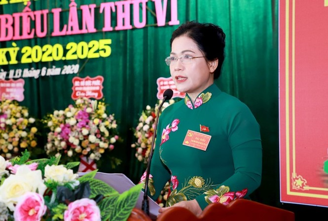 Ủy viên Thường vụ Tỉnh ủy, Bí thư TX Cửa Lò Nguyễn Thị Kim Chi