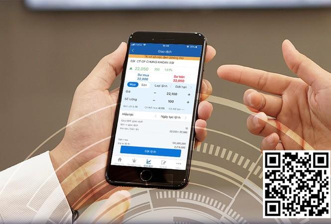 Quét QR code để tải ứng dụng SSI iWin và thực hành đầu tư chứng khoán ngay