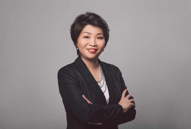 Bà Winnie Wong, Giám đốc Quốc gia của Mastercard tại Việt Nam, Campuchia & Lào