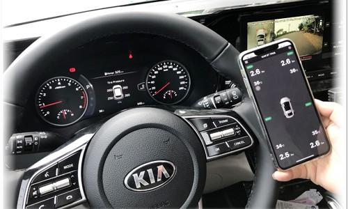 ICAR Ellisafe i3 hiển thị lên màn hình hệ thống của xe (ODO)
