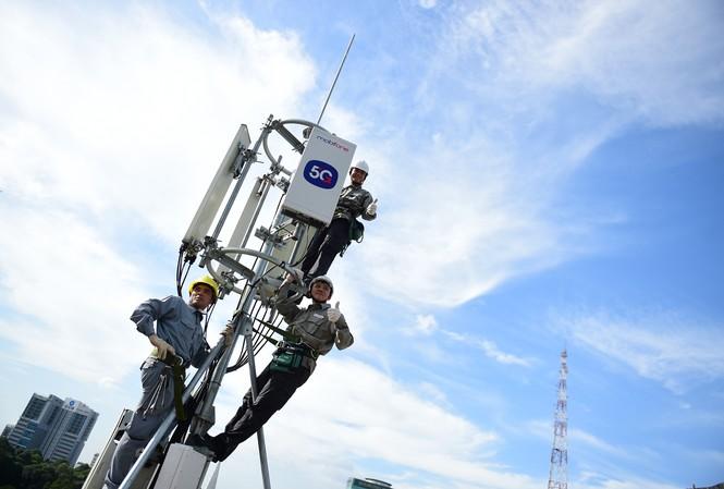 Tốc độ phát sóng 5G thương mại của MobiFone tối đa đạt 1,5Gbps
