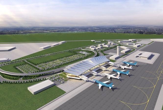 Mô hình sân bay quốc tế Phù Bài