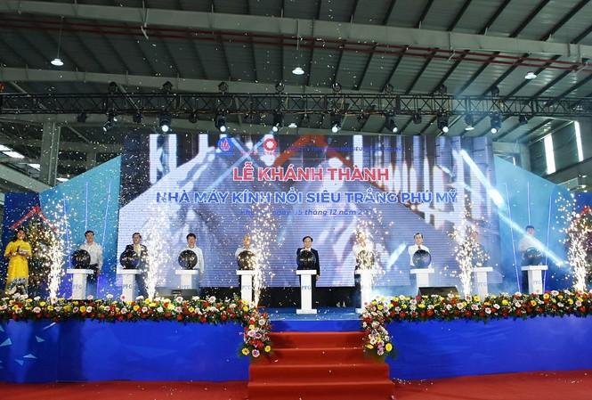 Khánh thành nhà máy kính nổi siêu trắng đầu tiên và duy nhất tại Việt Nam
