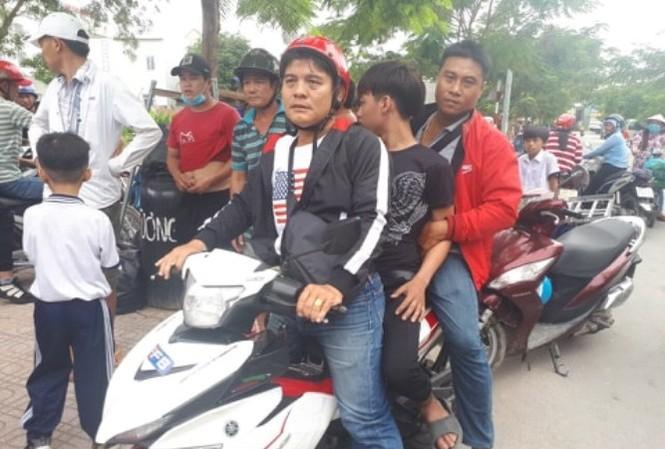 Thanh niên trộm xe máy sau khi bị mời lên trụ sở công an vì phê ma túy
