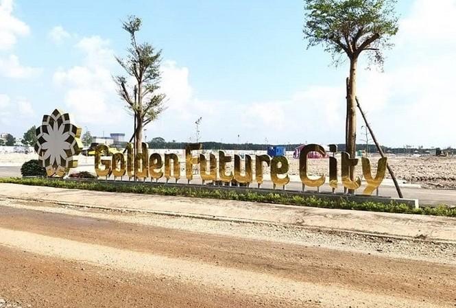 Bình Dương xử phạt dự án Golden Future City xây 'chui'