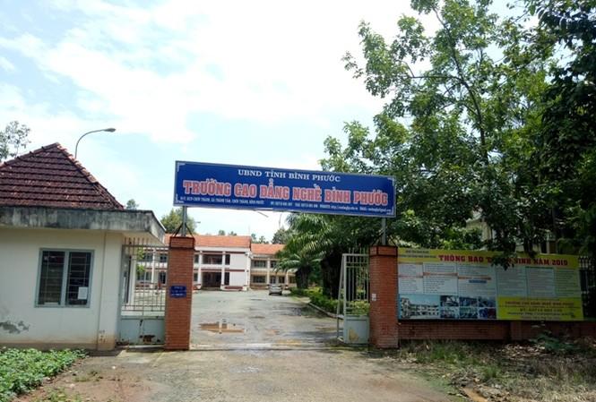 Thanh tra chỉ ra loạt sai phạm tại trường CĐ Nghề Bình Phước