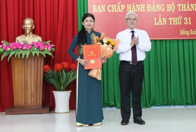 Bà Tôn Ngọc Hạnh, Giám đốc sở LTB&XH tỉnh Bình Phước được điều động làm Bí thư thành ủy Đồng Xoài