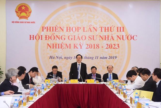 Phiên họp cuối cùng của Hội đồng GSNN để xét công nhận GS, PGS năm 2019