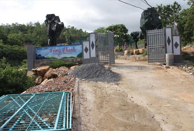 Trang trại Tùng Thanh tiếp tục xây dựng trái phép trên núi Hòn Rồng