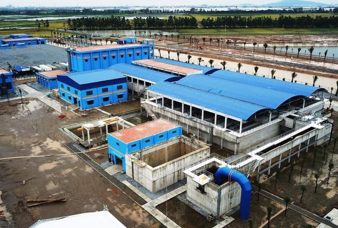 Nhà máy nước sạch sông Đuống (ảnh minh họa). Ảnh: PV