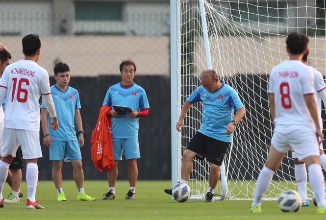 Khó khăn lớn nhất của U23 Việt Nam trong cuộc đối đầu với U23 Triều Tiên là về mặt thể lực. Ảnh: Vnexpress