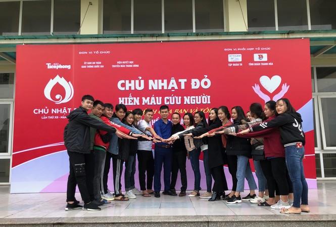 Trường Đại học Văn hoá thể thao và du lịch Thanh Hoá sẵn sàng Chủ nhật Đỏ