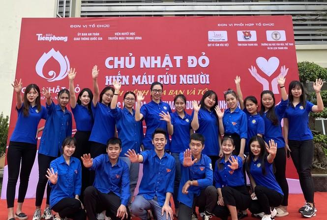 Sẵn sàng cho ngày hội hiến máu Chủ Nhật Đỏ tại Thanh Hoá