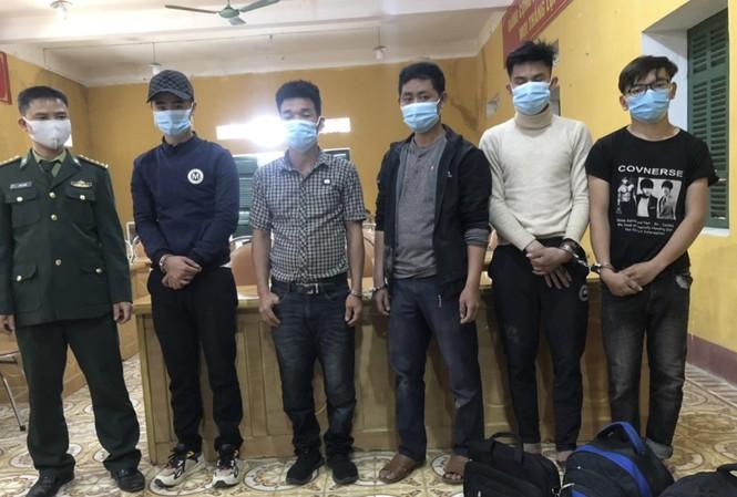 5 đối tượng nhập cảnh trái phép từ Lào về Việt Nam