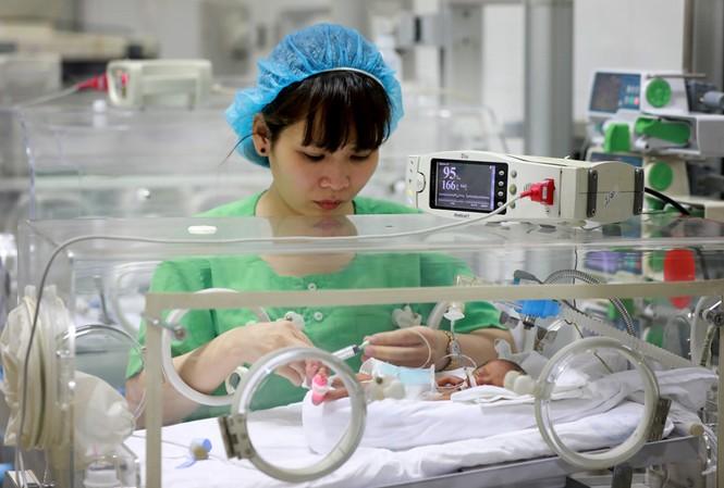Nơi giành giật sự sống cho trẻ sinh non