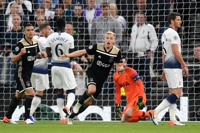 Hạ Tottenham, Ajax tái hiện kỳ tích của Bayern và Real