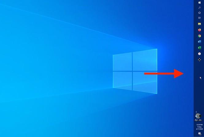 Hướng dẫn chuyển vị trí thanh taskbar trên Windows 10