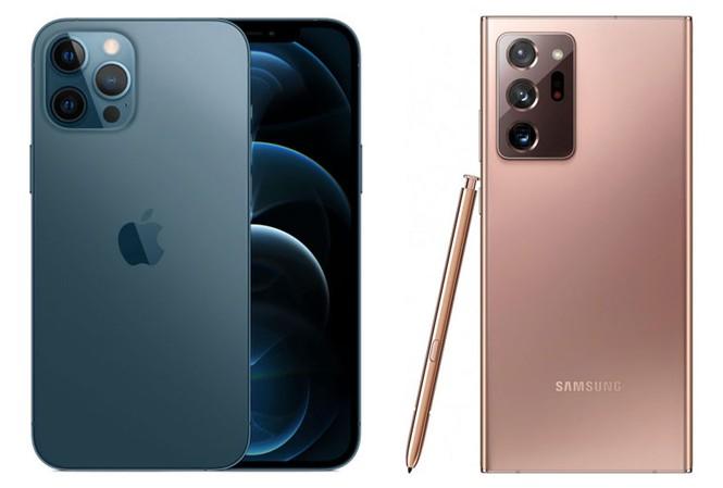iPhone 12 Pro Max bị đánh giá thấp hơn Galaxy Note 20 Ultra 5G, OnePlus 8 Pro