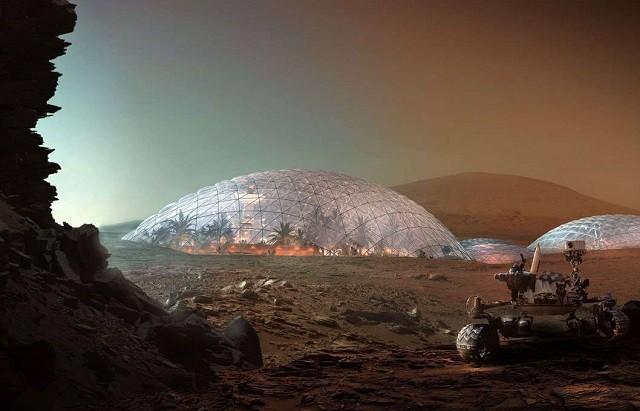 Video mô tả thành phố trên sao Hỏa của SpaceX