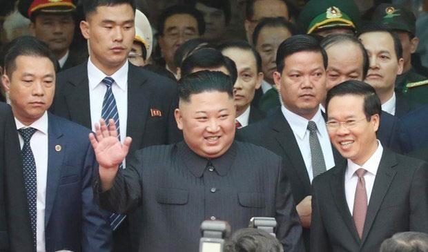 Chủ tịch Triều Tiên Kim Jong - Un
