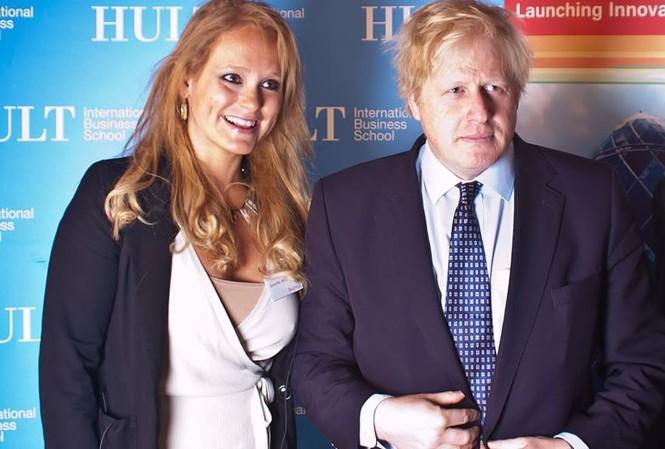Thủ tướng Anh Boris Johnson phủ nhận vi phạm trong quan hệ với cô Jennifer Arcuri Ảnh: Flickr
