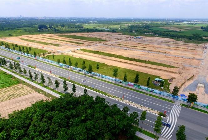 Khu đất 43ha chuyển nhượng cho Công ty Tân Phú Ảnh: H.C