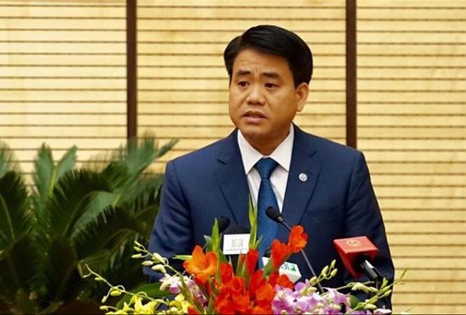 Chủ tịch UBND thành phố Hà Nội Nguyễn Đức ChungẢnh: Trường Phong