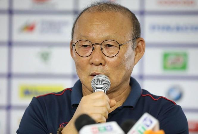 HLV Park Hang Seo khao khát giành HCV SEA Games cùng U22 Việt Nam. ảnh: HỮU PHẠM