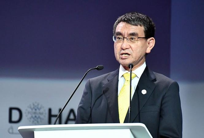 Bộ trưởng Quốc phòng Nhật Bản Taro Konoảnh: Mofa Japan