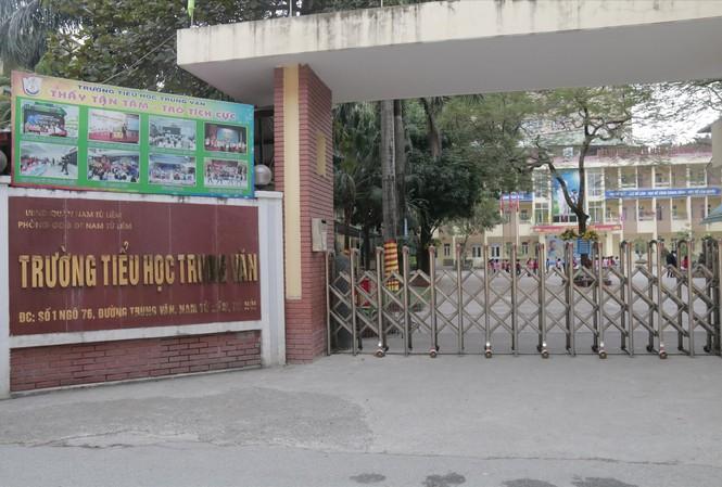 Trường tiểu học Trung Văn, nơi phụ huynh gửi đơn tố giáo viên đánh học sinh