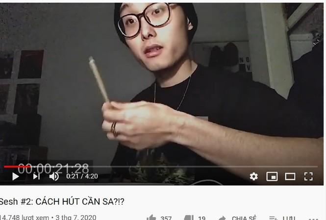 Một trong những video dạy hút cần trên Youtube