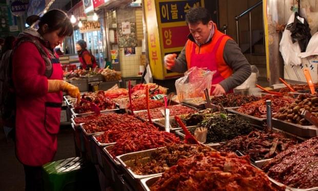 Món kimchi