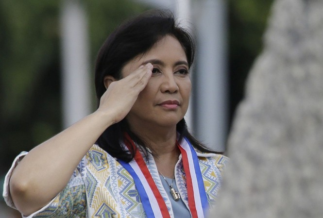 Phó tổng thống Leni Robredo.