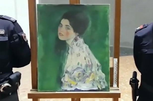 """Bức tranh """" Chân dung một quý bà"""" vừa được tìm thấy sau 22 năm bị đánh cắp."""