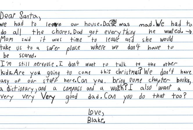 Bức thư gây xúc động lòng người của cậu bé 7 tuổi.
