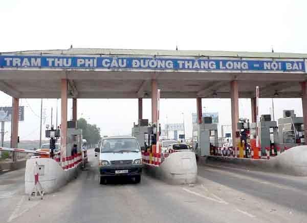 Trạm thu phí Bắc Thăng Long - Nội Bài có thể được di dời về Vĩnh Phúc sau khi trạm thu phí BOT tuyến Nội Bài - Vĩnh Yên kết thúc thời gian thu phí.